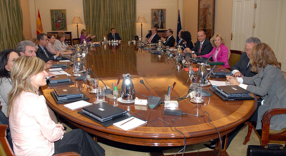 Consejo de Ministros 2008