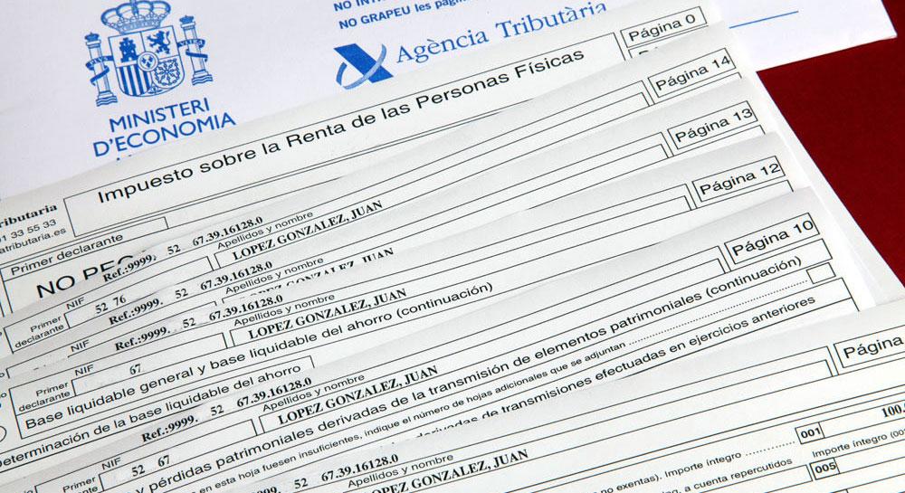 Hacienda inicia hoy la campaña de declaración de la renta