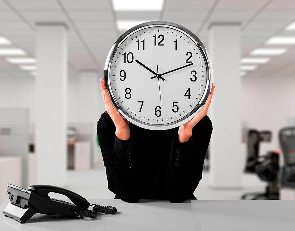 Registro de jornada diaria y horas extraordinarias
